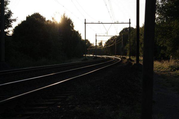 Spoor bij Tongelre