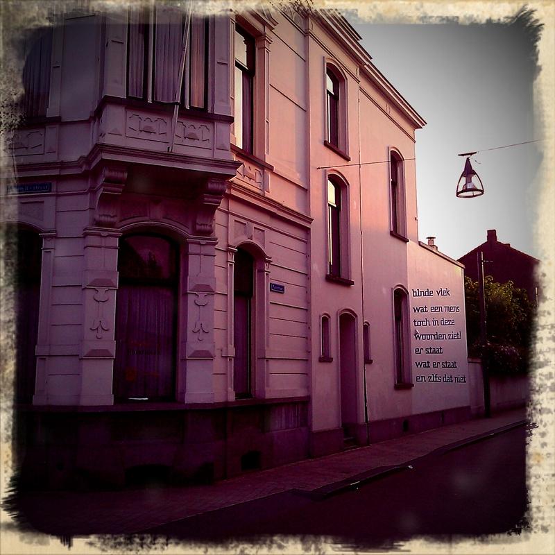 Gedicht muur Tilburg
