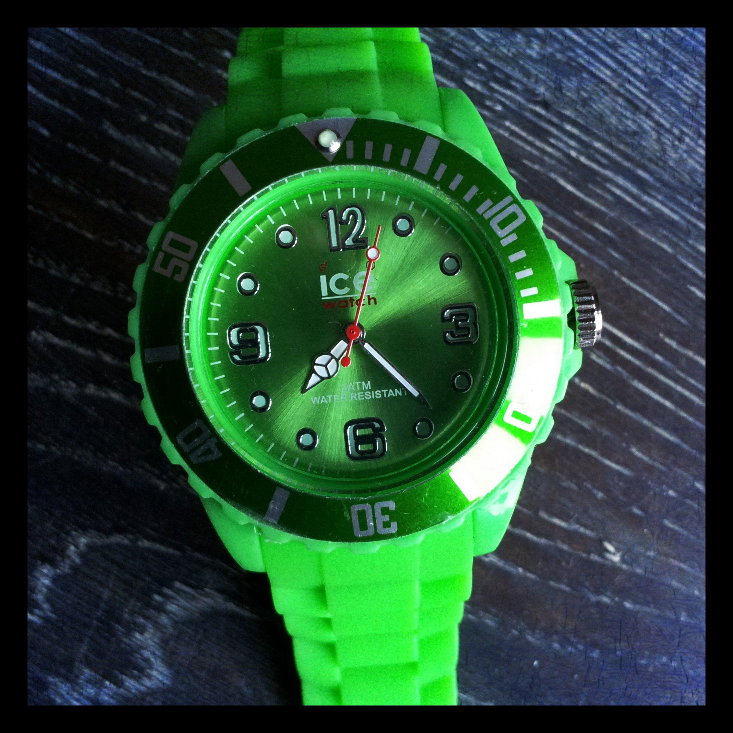 Groen Namaak Ice Watch - Horloge Kermis