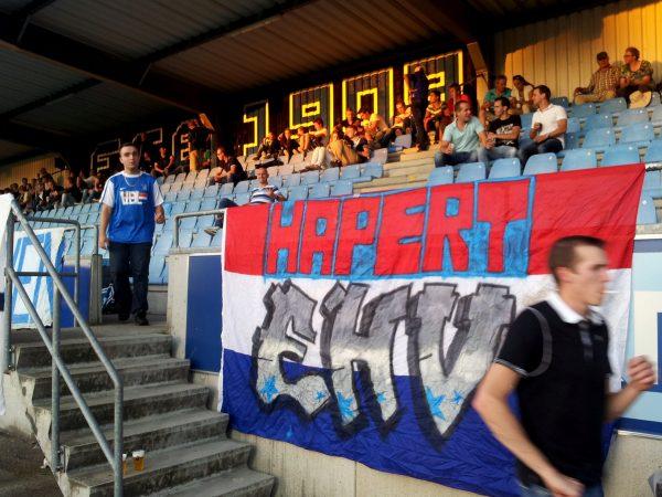 Hapert bij FC Eindhoven op tribune