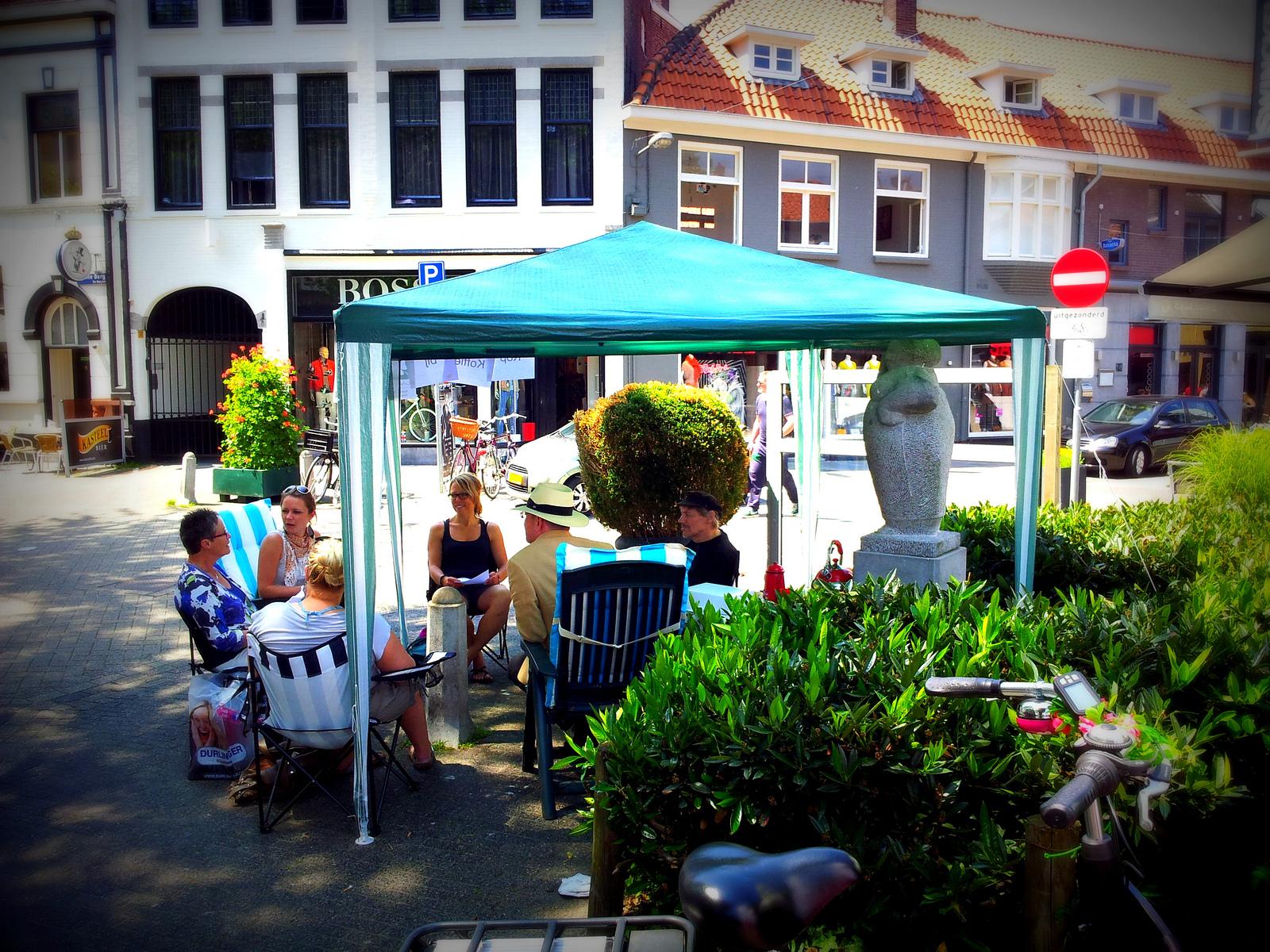 Geluksroute Eindhoven - Kop Koffie bij ons Moeder