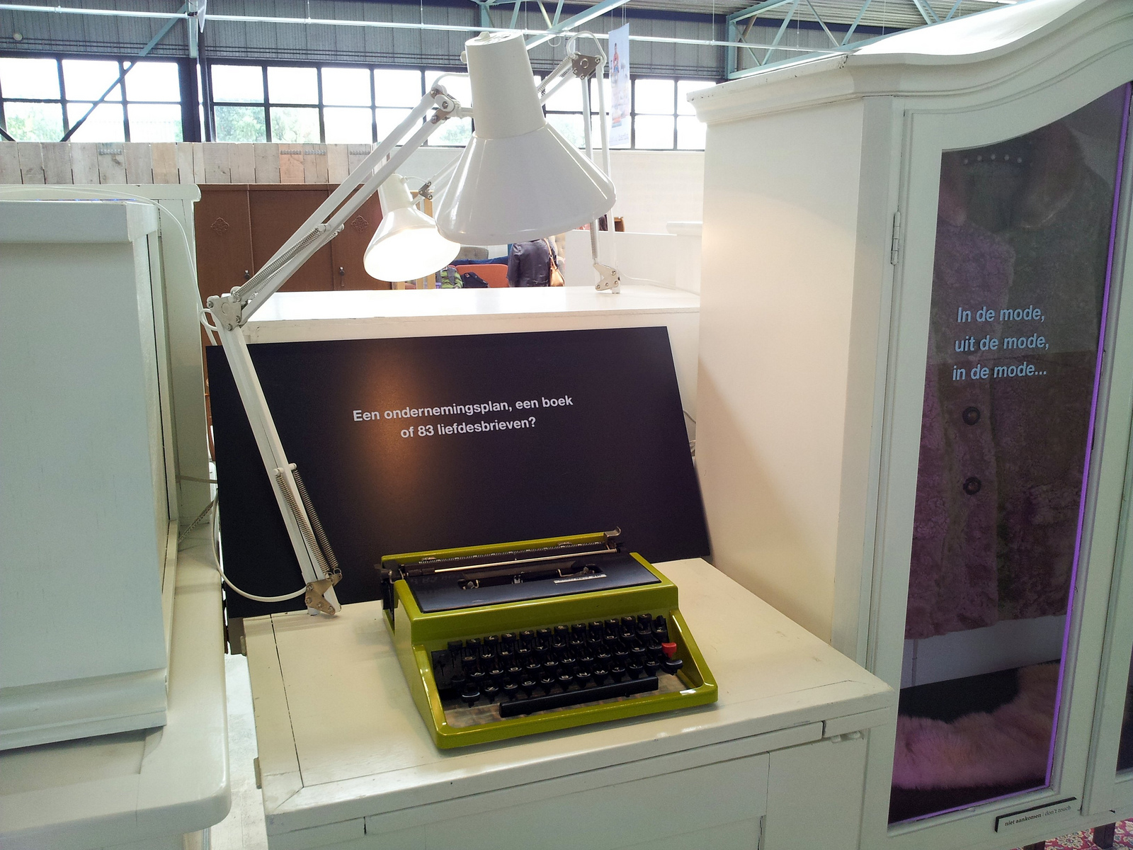 Verzinnering - typemachine