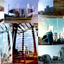Lichttoren Eindhoven - Collage analoge foto