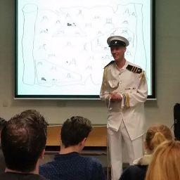 Kapitein op het Thought Leader schip.