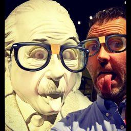 Snapchat - Lens met Einstein