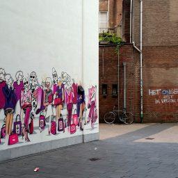 Grafitti Nieuwe Emmasingel Eindhoven