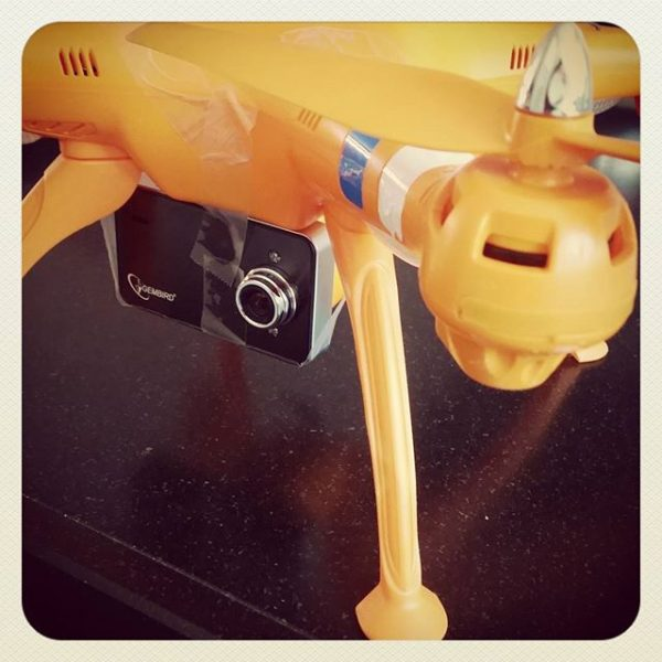 Syma quadcopter met dashboard cam