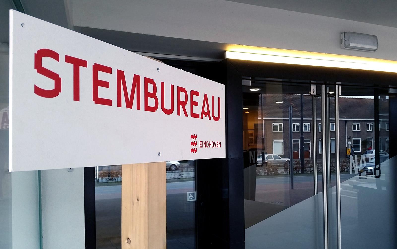 Stembureau Natlab Eindhoven