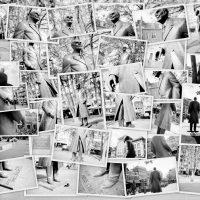 Collage Standbeeld Frits Philips op de markt van Eindhoven