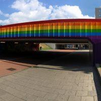Regenboogtunnel Eindhoven