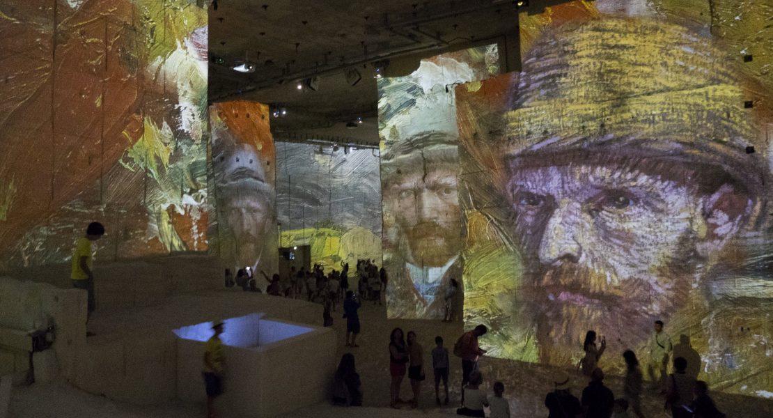 Carrieres des Lumieres - Baux-de-Provence - Van Gogh Japan (2)